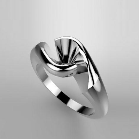 Montatura per anello solitario 5831-SMALL