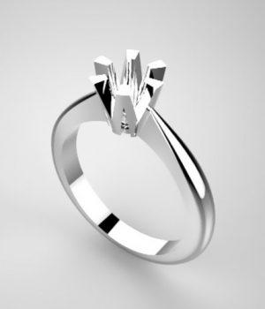 Montatura per anello solitario 6810-SMALL