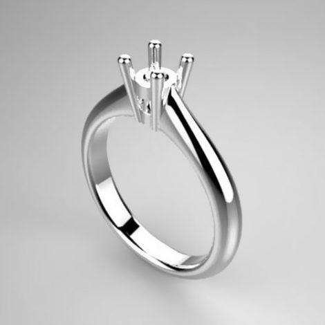 Montatura per anello solitario 7355-SMALL
