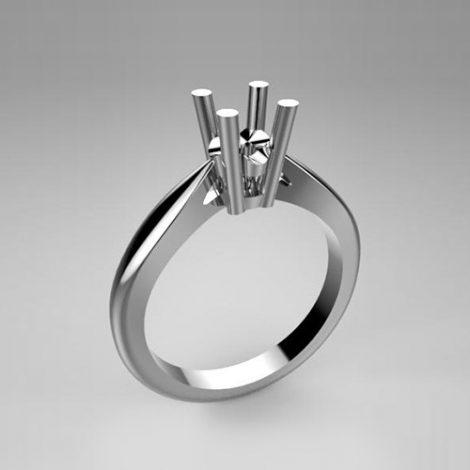 Montatura per anello solitario 7469-SMALL