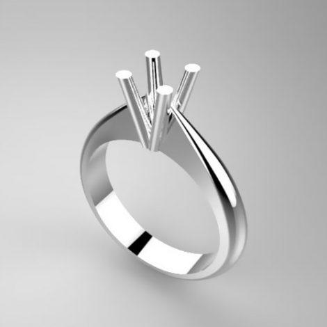 Montatura per anello solitario 7553-UNI