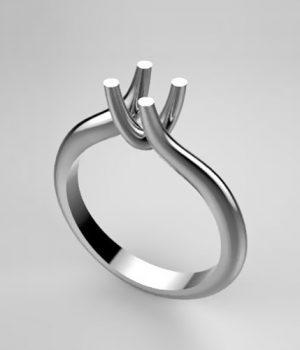 Montatura per anello solitario 7742-SMALL