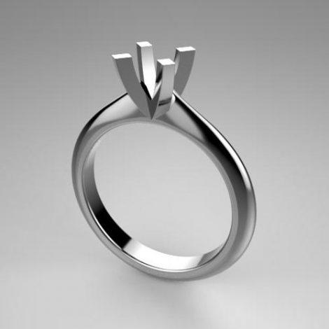 Montatura per anello solitario 7872-UNI