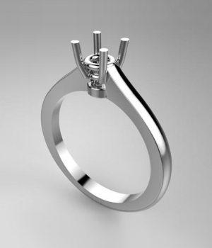 Montatura per anello solitario 7913-7532