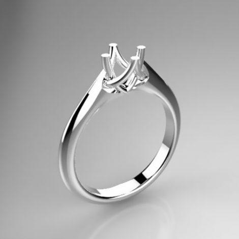 Montatura per anello solitario 8170