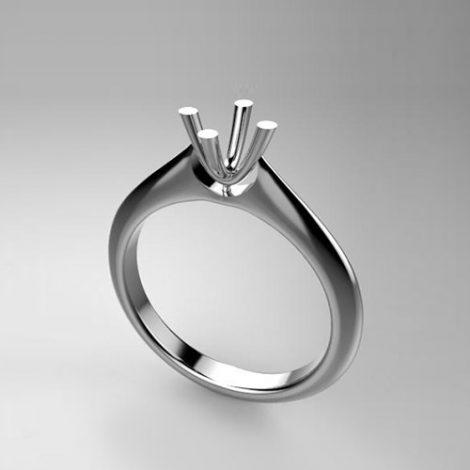 Montatura per anello solitario 8189-SMALL