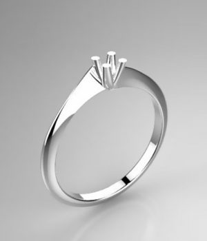 Montatura per anello solitario 8191-LG