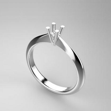 Montatura per anello solitario 8239-SMALL
