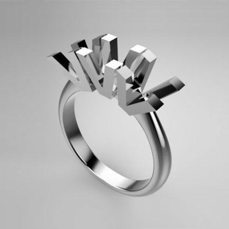 Montatura per anello trilogy 0145-SMALL