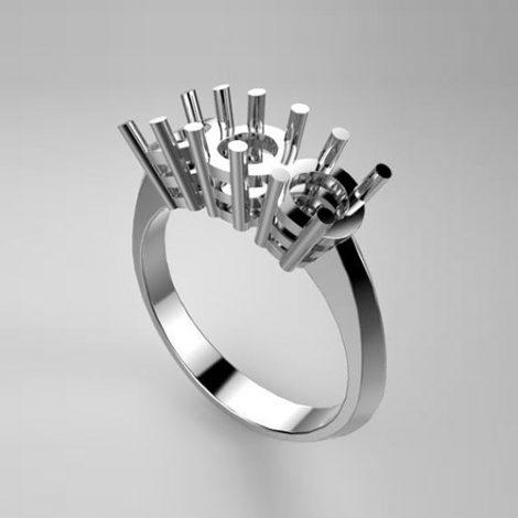 Montatura per anello trilogy 7620-SMALL