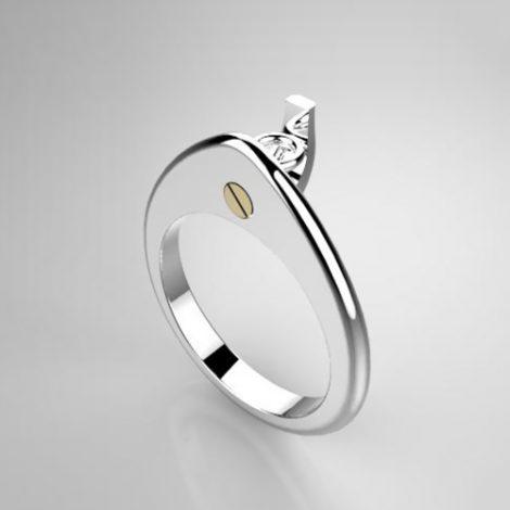 Montatura per anello solitario 7904-UNI